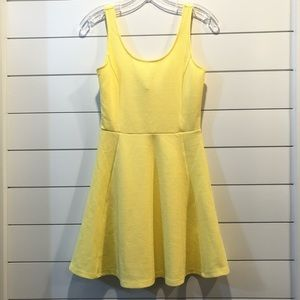 H&M Neon Yellow Dress! 💛🌟 NWOT